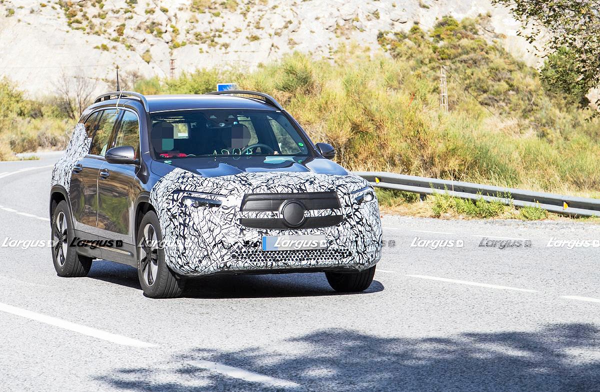 Mercedes EQB (2020) : le SUV électrique à 7 places se précise