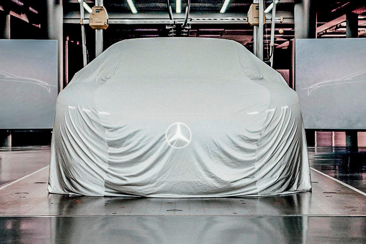 Mercedes EQS : la Classe S 100 % électrique sera à Francfort !