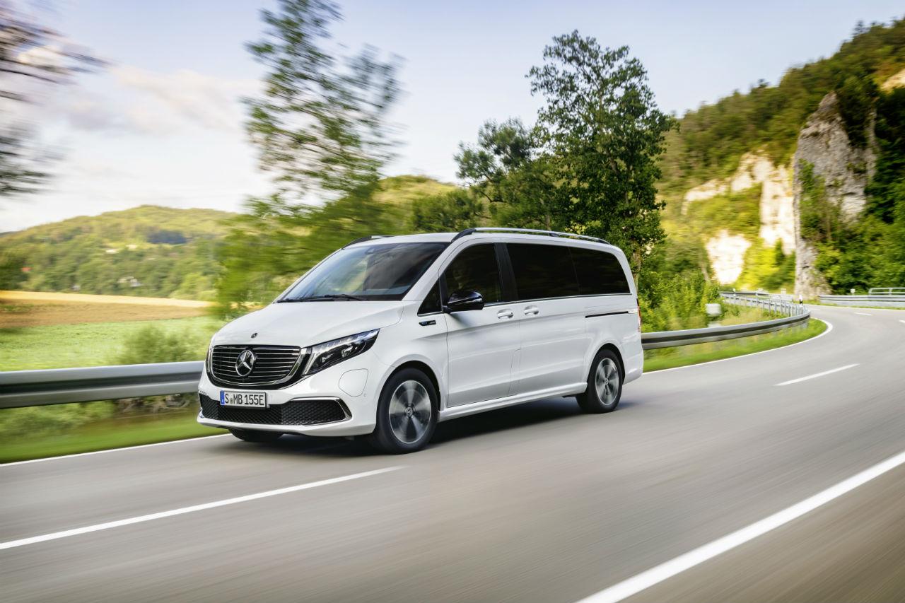 Mercedes EQV: le Classe V électrique arrive en série