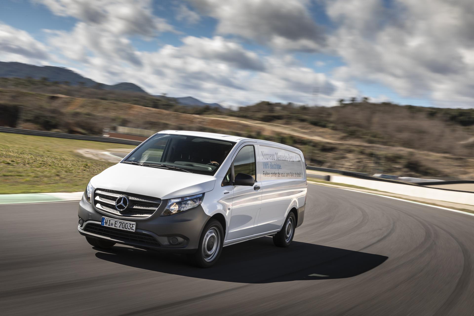 Mercedes eVito : les commandes ouvertes à l'automne 2019