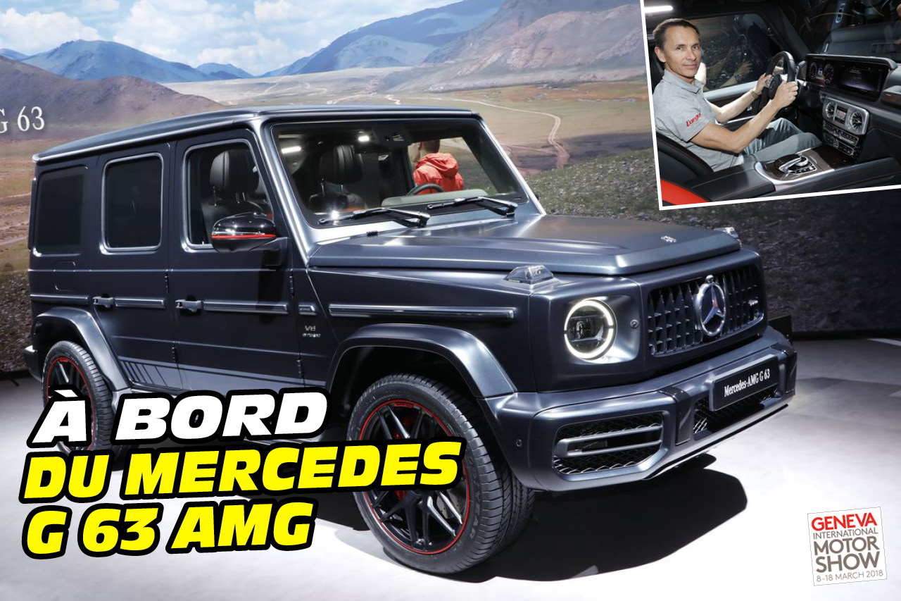 a bord du mercedes classe g 63 amg sp cial images photo 1 l 39 argus. Black Bedroom Furniture Sets. Home Design Ideas