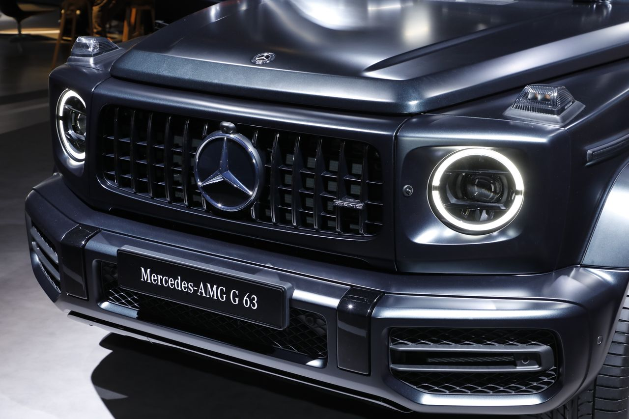 a bord du mercedes classe g 63 amg sp cial images photo 5 l 39 argus. Black Bedroom Furniture Sets. Home Design Ideas