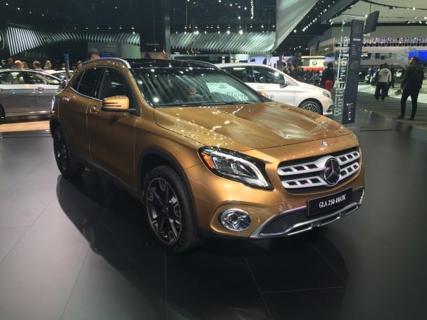 Actualité et Essai MERCEDES et SMART Mercedes-gla-2017-naias-1-