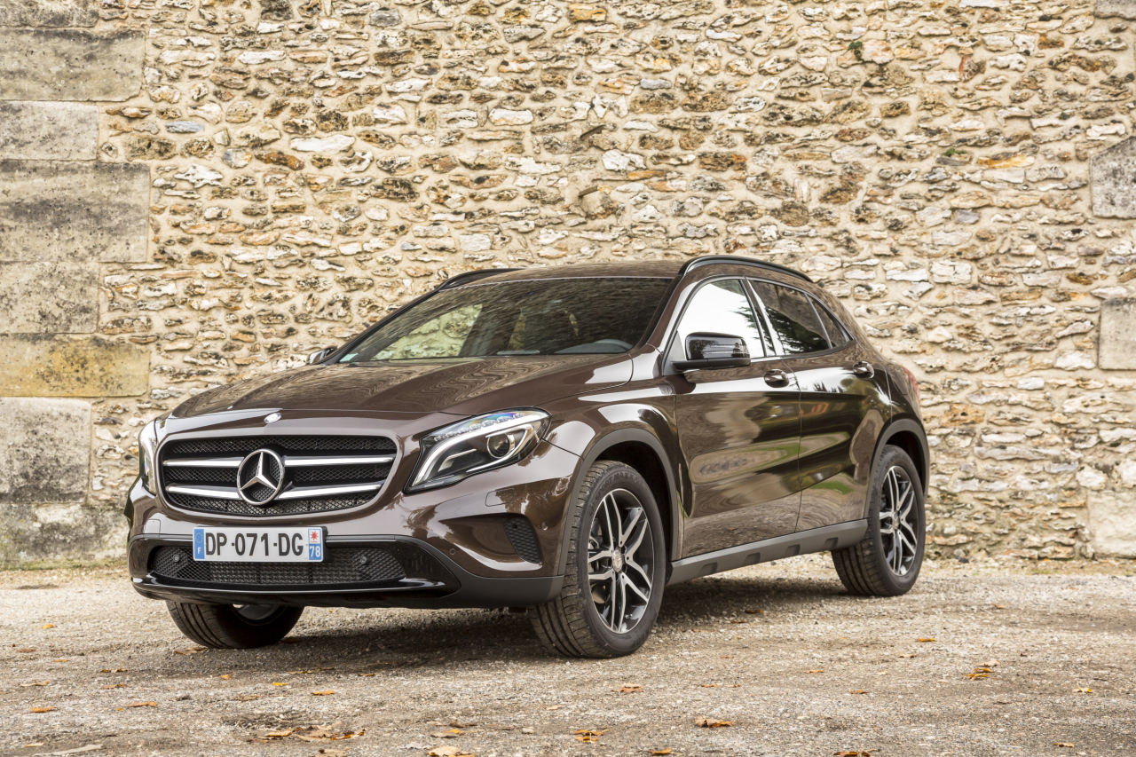 mercedes gla activity edition s rie limit e 1200 exemplaires l 39 argus. Black Bedroom Furniture Sets. Home Design Ideas