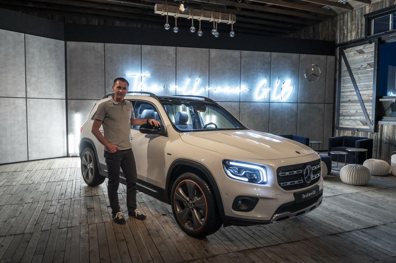A bord du Mercedes GLB, le nouveau SUV à 7 places
