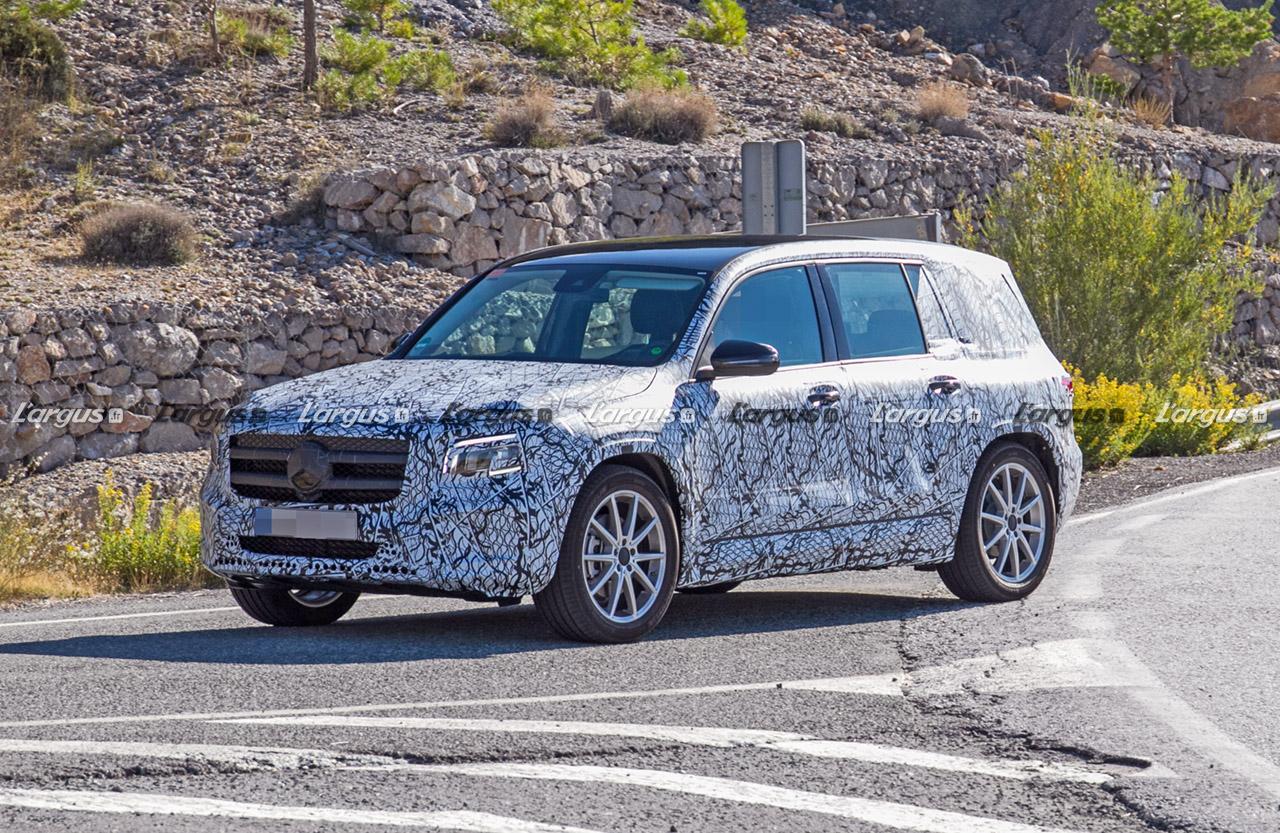Mercedes GLB (2019): le nouveau SUV 7 places en approche