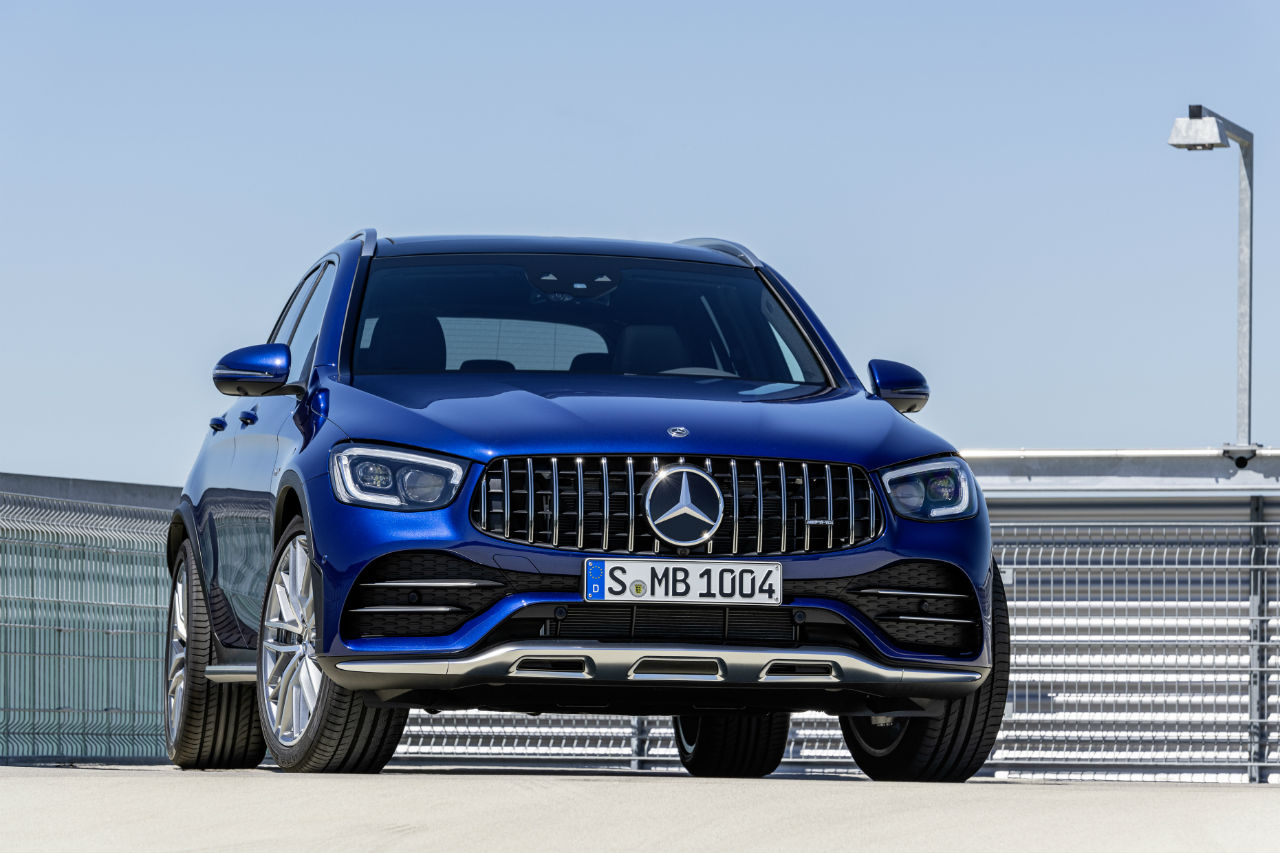 Mercedes GLC et GLC coupé: nouvelle version 43 AMG de 390 ch