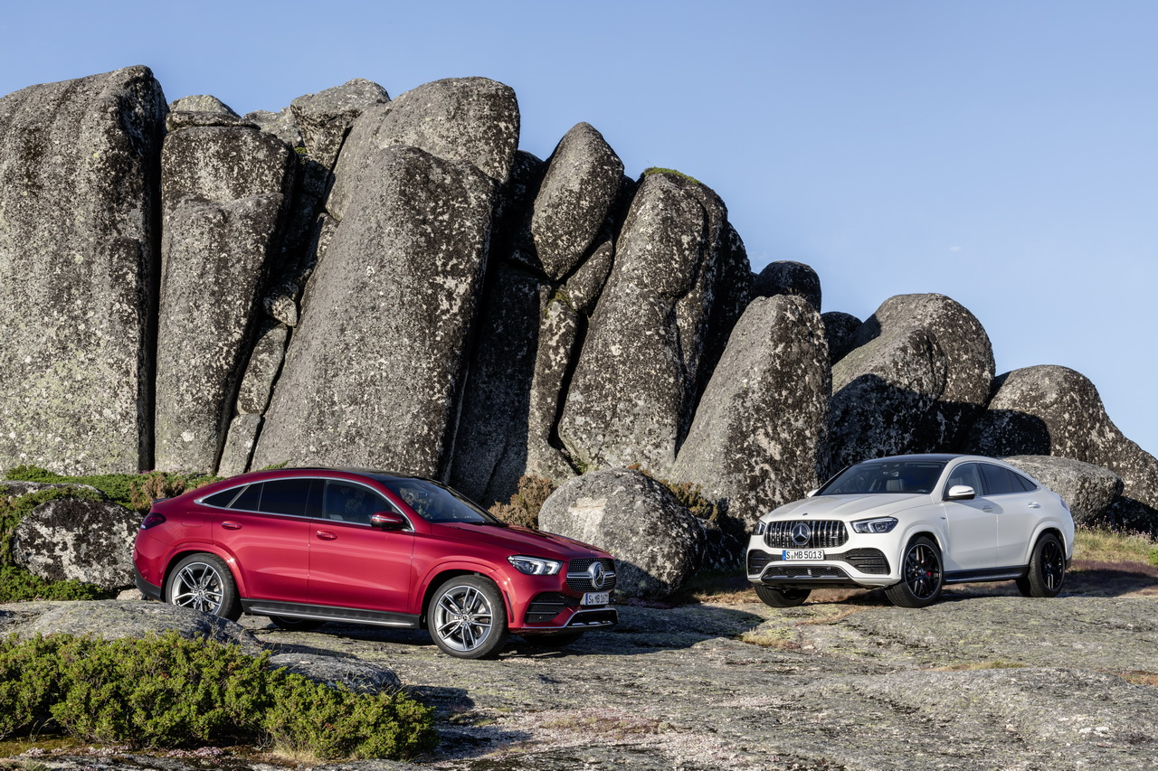 Mercedes GLE Coupé (2020) : photos et infos de la nouvelle génération