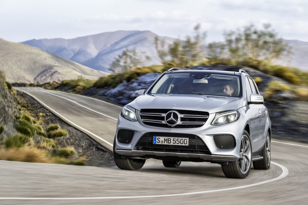 mercedes gle 2015 une version hybride rechargeable de 442 ch l 39 argus. Black Bedroom Furniture Sets. Home Design Ideas