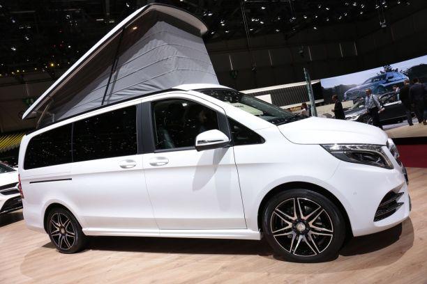 Mercedes Classe V Marco Polo Horizon Un Camping Car Au Regime L