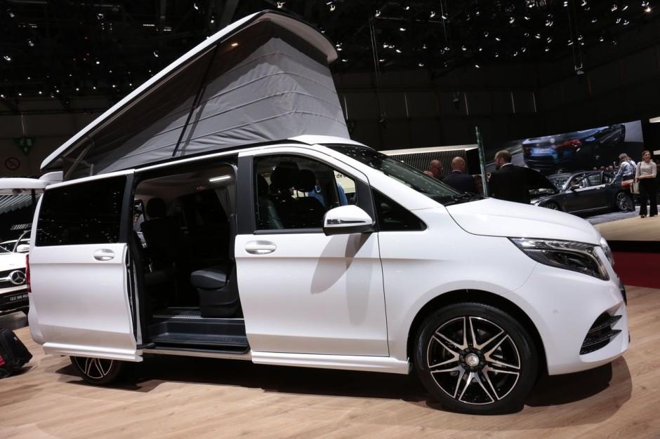 mercedes classe v marco polo horizon un camping car au. Black Bedroom Furniture Sets. Home Design Ideas