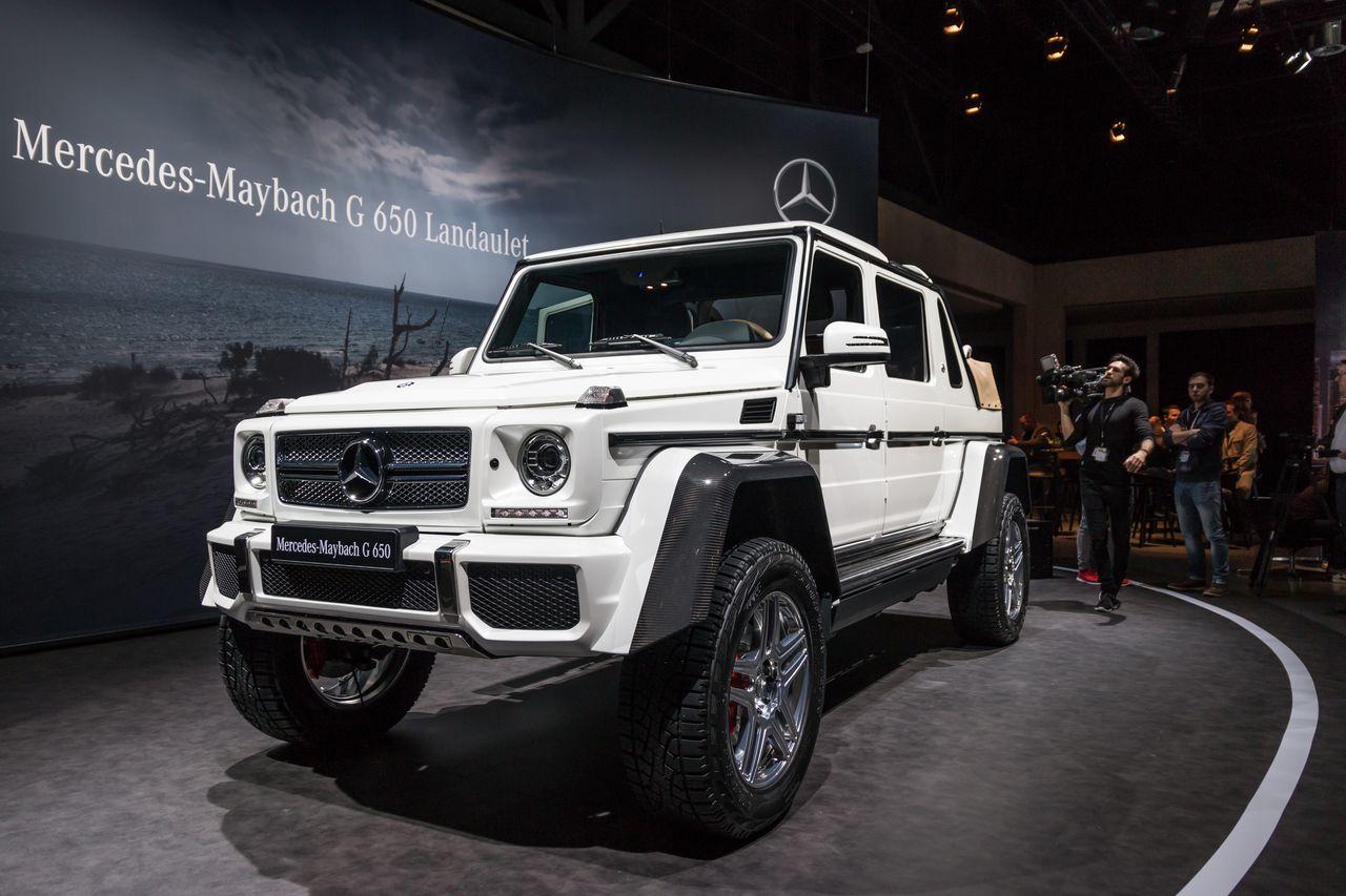 Mercedes-Maybach Classe G 650 Landaulet : le sens de la démesure