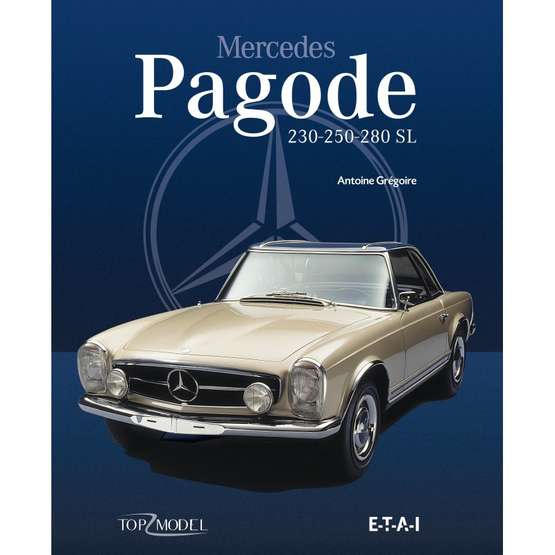 livre l 39 histoire de la mercedes pagode photo 1 l 39 argus. Black Bedroom Furniture Sets. Home Design Ideas