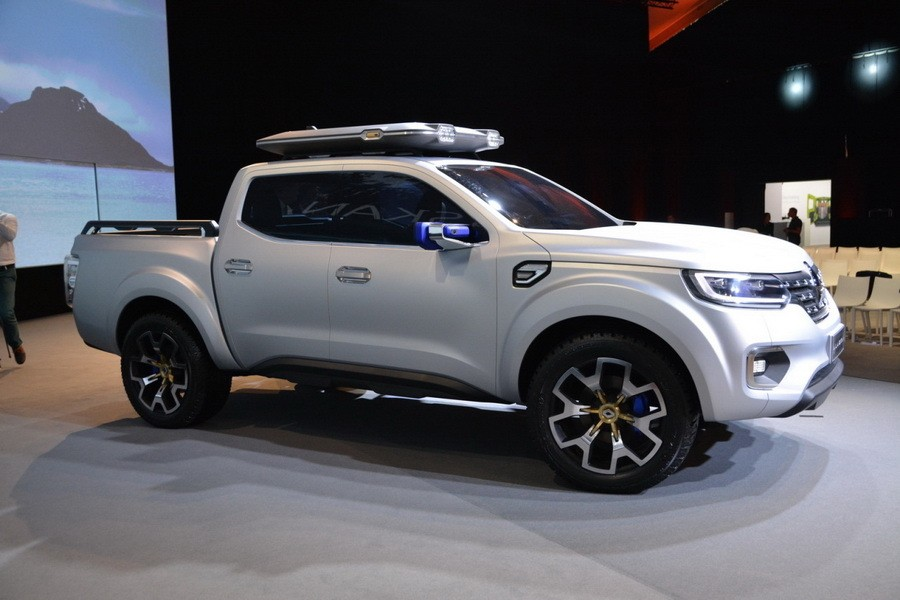 le pick-up mercedes x-class arrivera en 2017 - l'argus