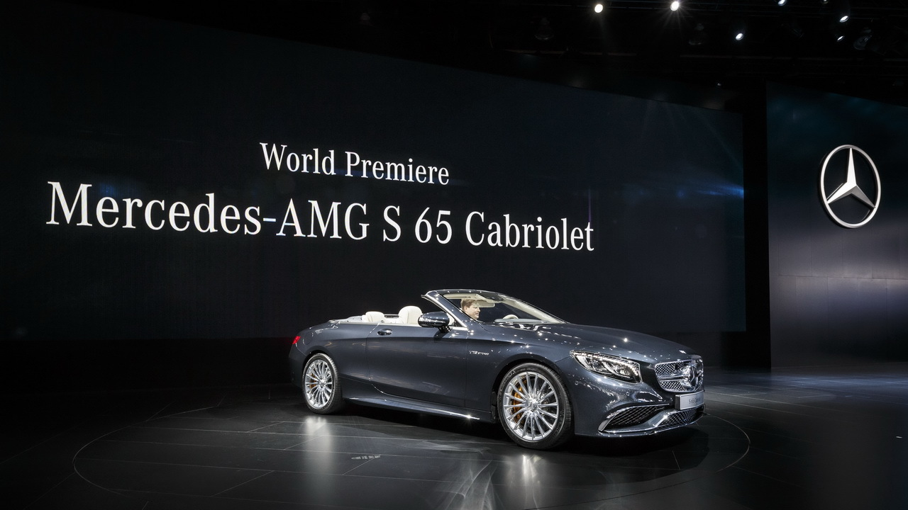 mercedes classe s cabriolet un v12 biturbo pour la s 65 amg l 39 argus. Black Bedroom Furniture Sets. Home Design Ideas