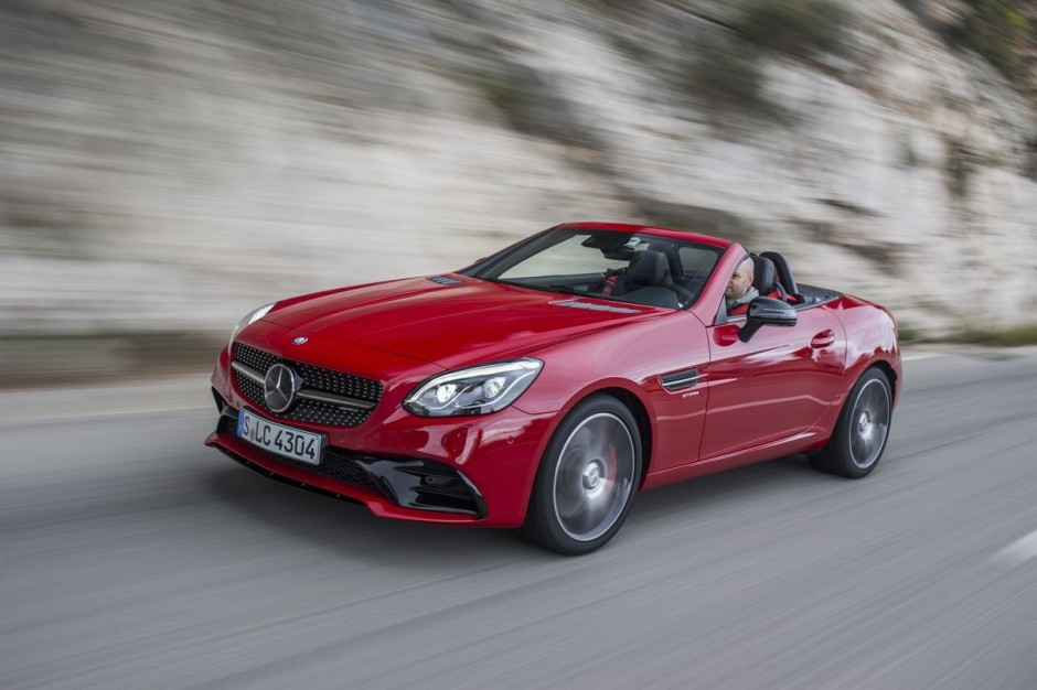 essai mercedes amg slc 43 2016 le souffle court photo 3 l 39 argus. Black Bedroom Furniture Sets. Home Design Ideas