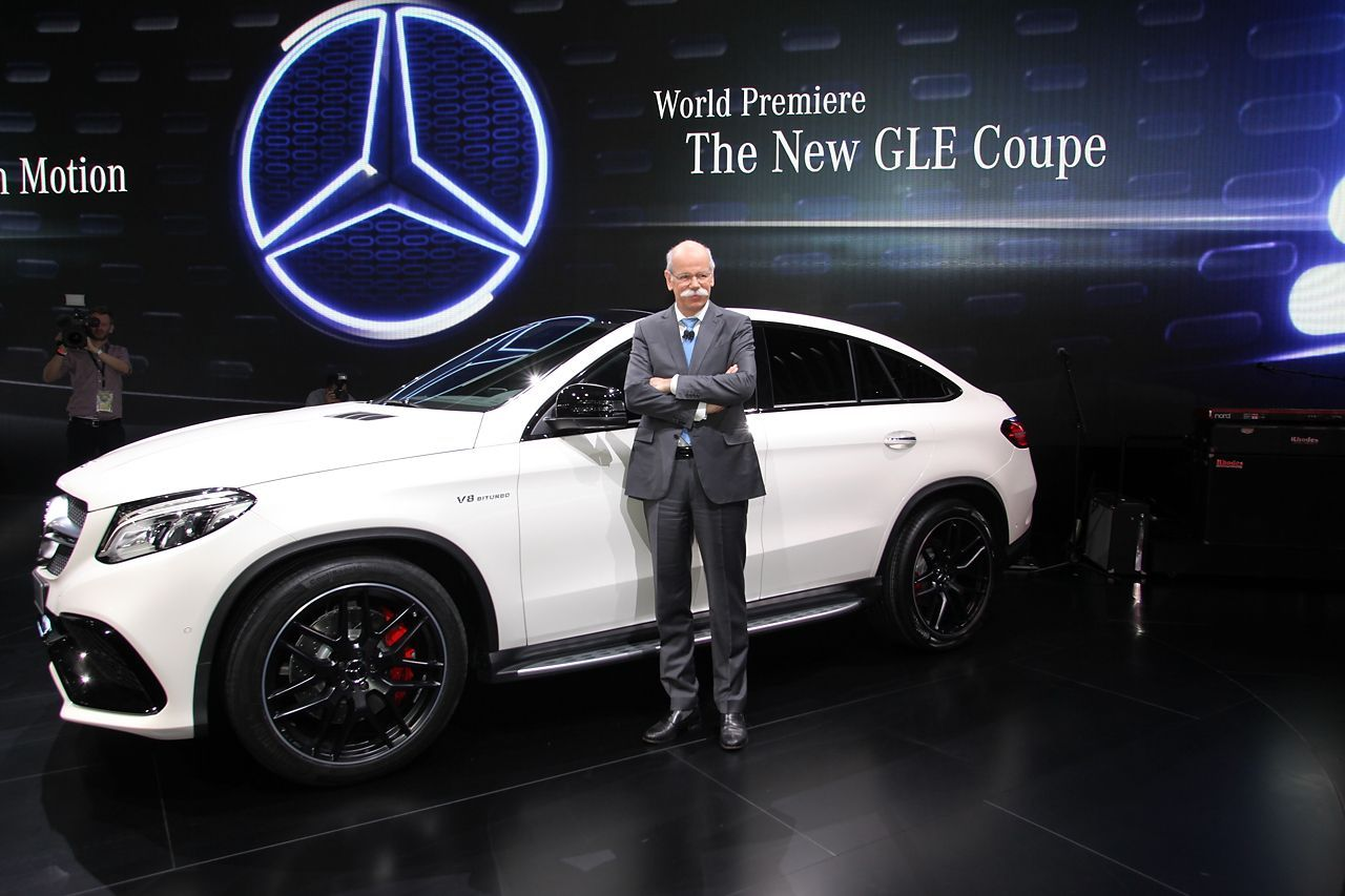 mercedes gle coup 2015 en direct de detroit l 39 argus. Black Bedroom Furniture Sets. Home Design Ideas