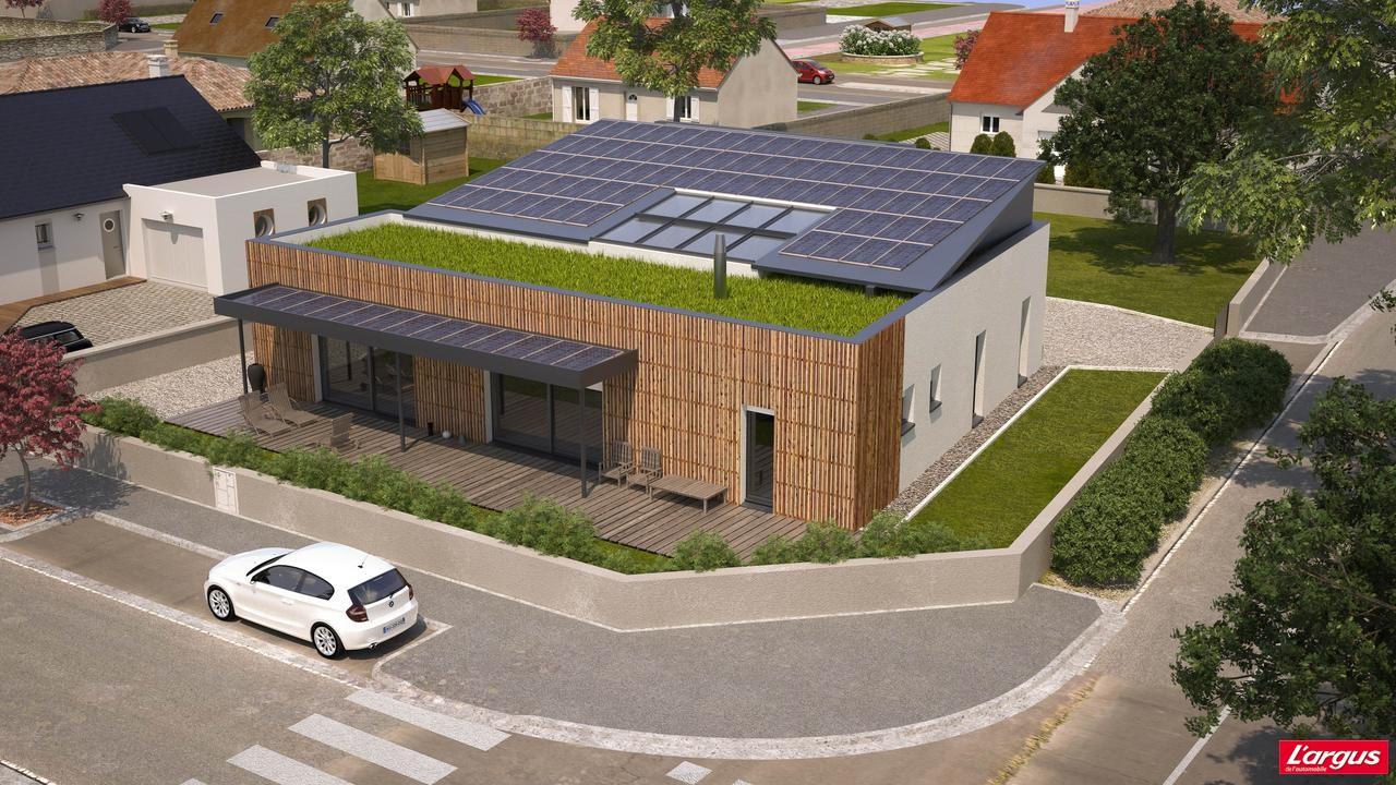 Bmw partenaire d 39 une maison z ro mission l 39 argus for Maison classe energie d