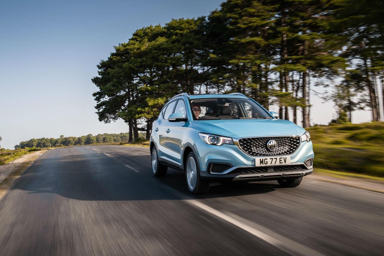 MG: retour en Europe avec le SUV électrique ZS EV