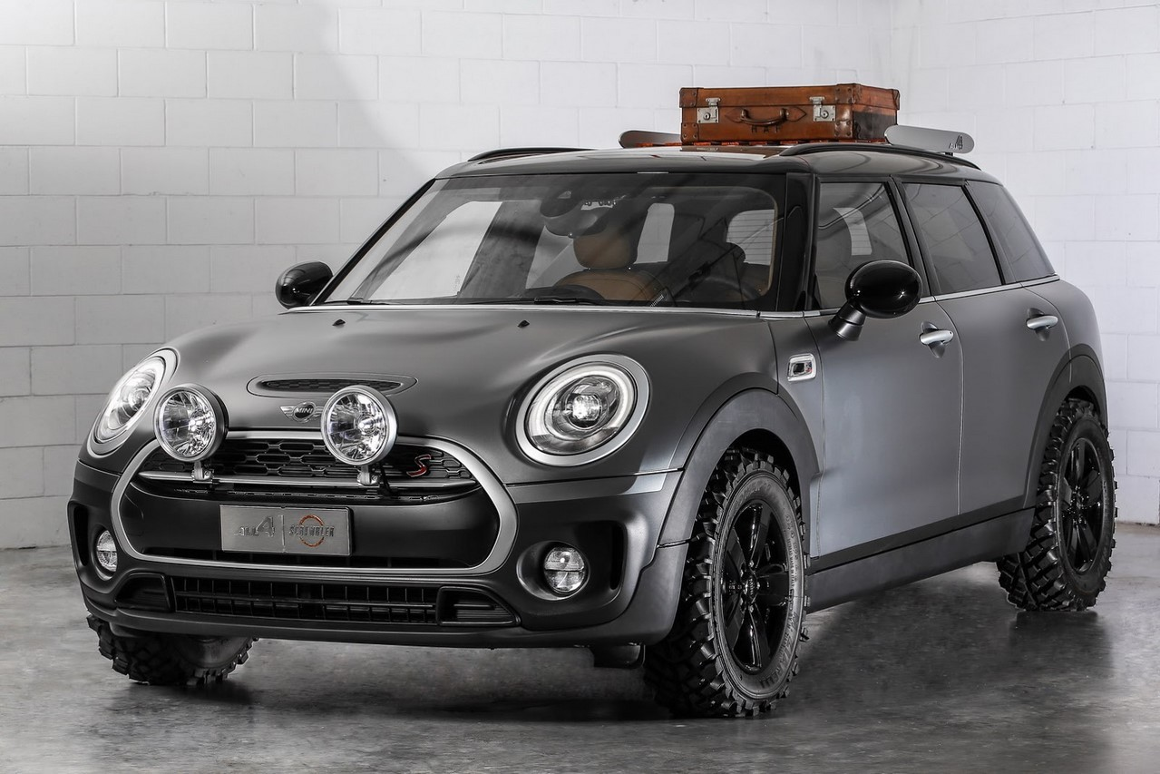 mini clubman all4 scrambler concept le clubman en baroudeur de luxe l 39 argus. Black Bedroom Furniture Sets. Home Design Ideas