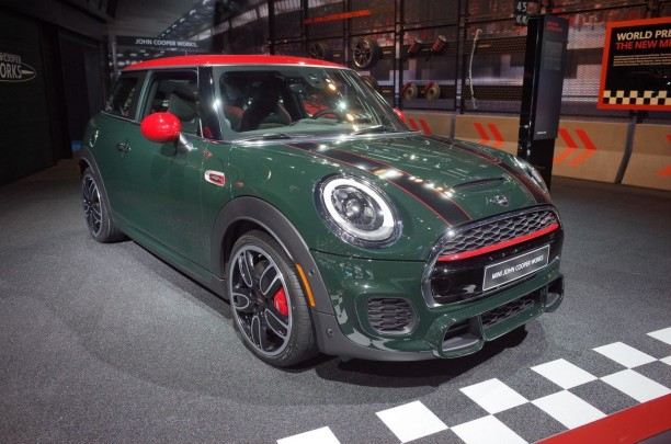 detroit 2015 mini john cooper works l 39 argus. Black Bedroom Furniture Sets. Home Design Ideas