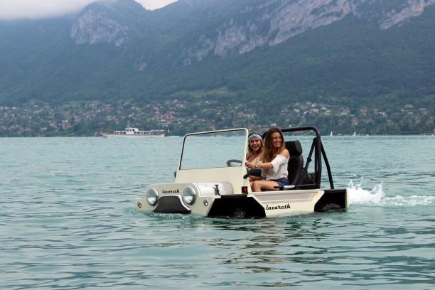 mini moke une version amphibie made in france sign e lazareth l 39 argus. Black Bedroom Furniture Sets. Home Design Ideas