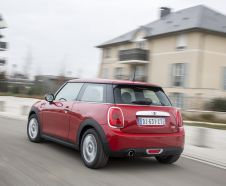 Arriere Mini One rouge