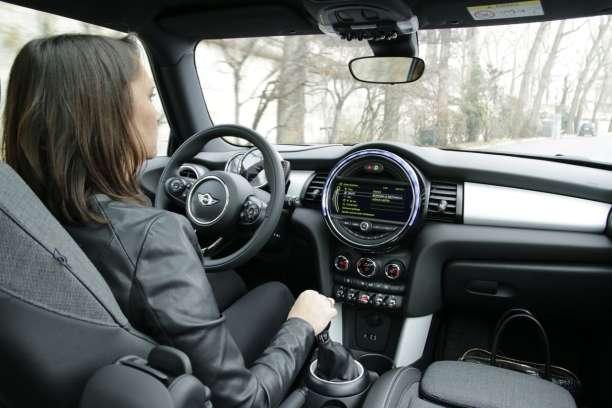 Accoudoir Console Centrale Boîte Noire pour MG Rover Mini Cooper