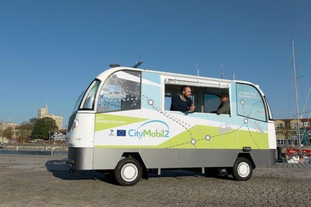 La Rochelle Teste Les Vehicules Electriques Sans Chauffeur Citymobil