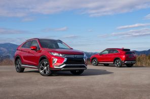 mitsubishi eclipse cross rouge