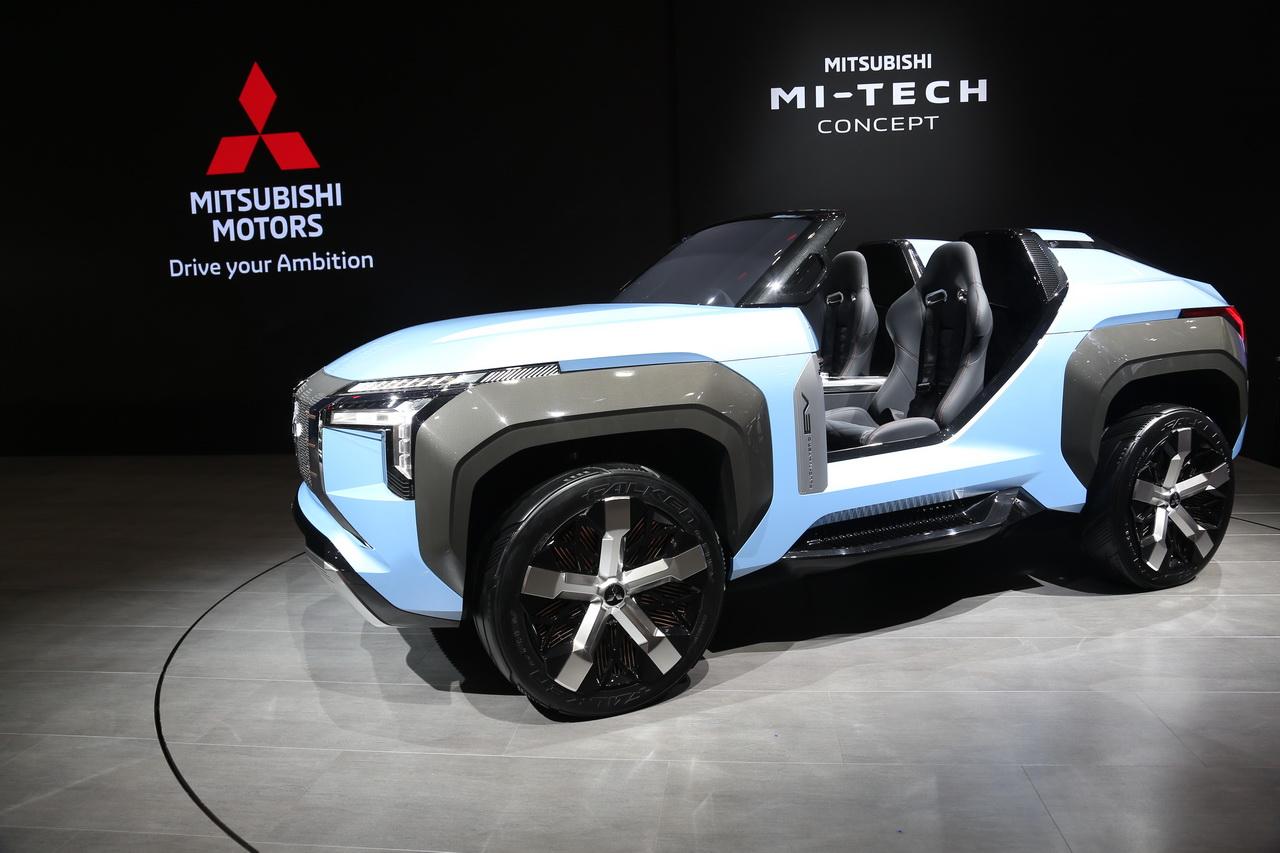 Mitsubishi MI-Tech Concept et K-Wagon Concept à Tokyo