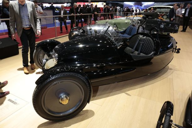 Morgan EV3 UK 1909 salon de Genève 2017