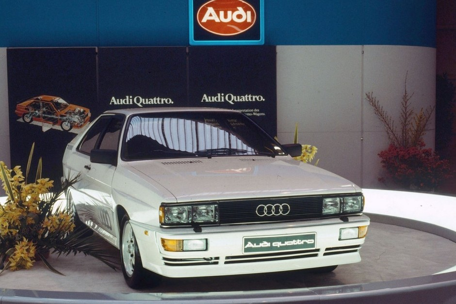 40 ans de moteur 5 cylindres audi en vingt mod les audi quattro 1980 l 39 argus. Black Bedroom Furniture Sets. Home Design Ideas