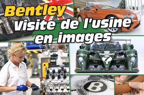 En images. Visite guidée de l'usine Bentley à Crewe