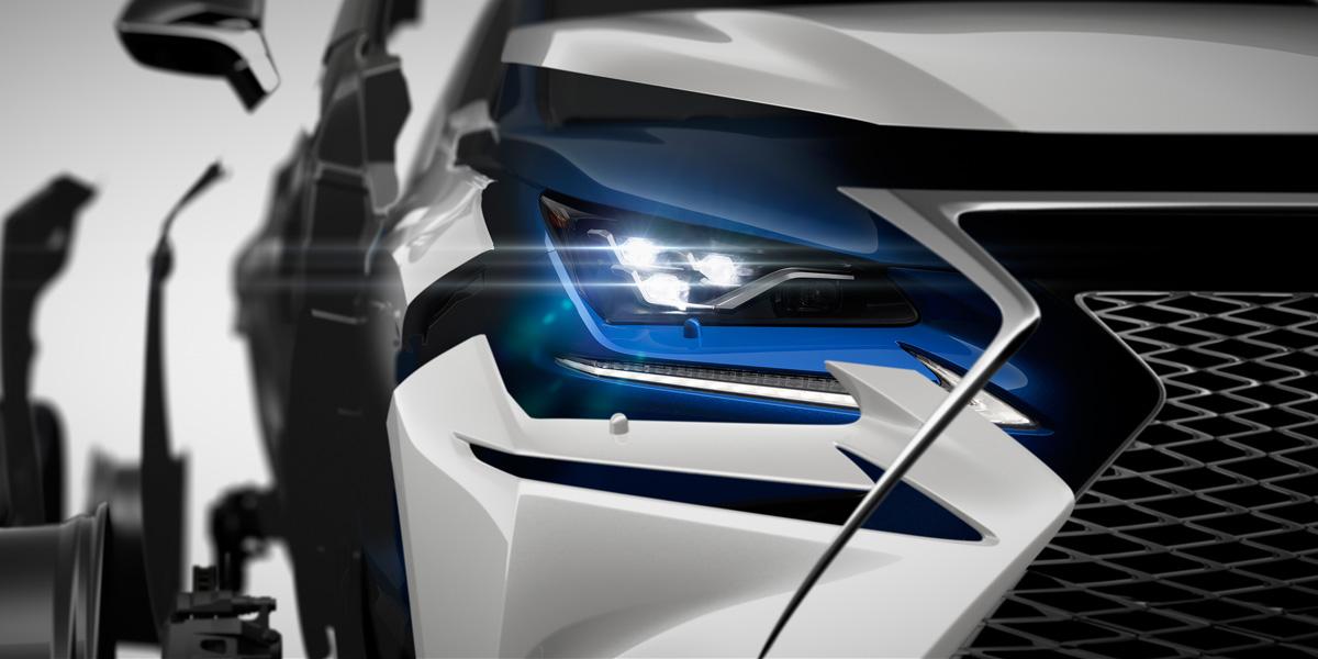 Lexus nx la version restyl e au salon de shanghai 2017 for Auto journal salon 2017