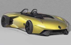 illustration sketch design Renault Spider