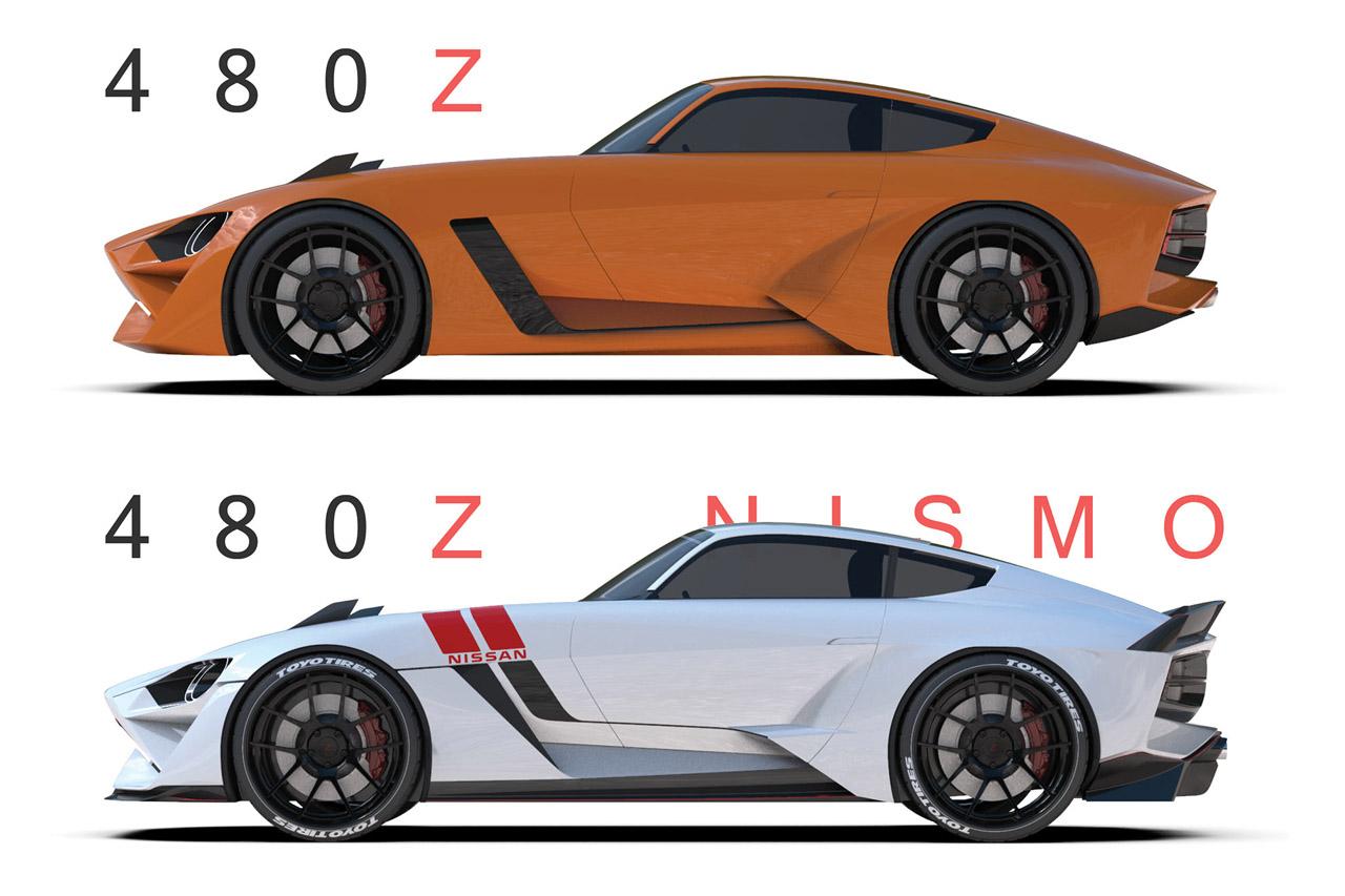 2018 - [Nissan] 370Z II - Page 2 Nissan-480z-1