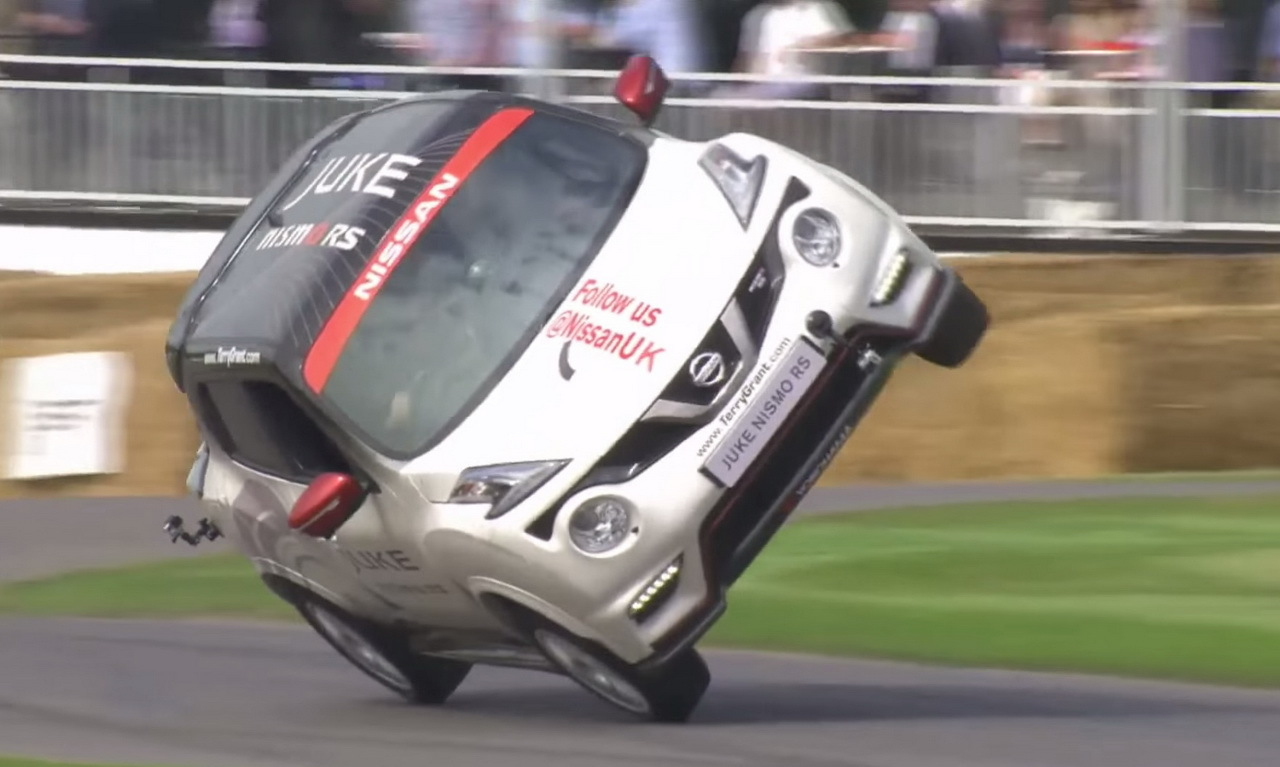 festival goodwood 2015 un nissan juke nismo rs sur deux roues l 39 argus. Black Bedroom Furniture Sets. Home Design Ideas