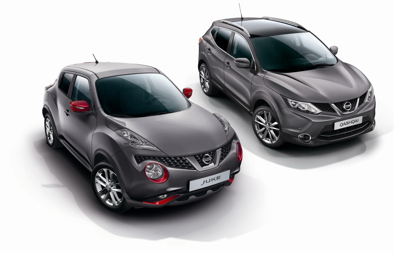 nissan juke et qashqai design edition nouvelles s ries. Black Bedroom Furniture Sets. Home Design Ideas