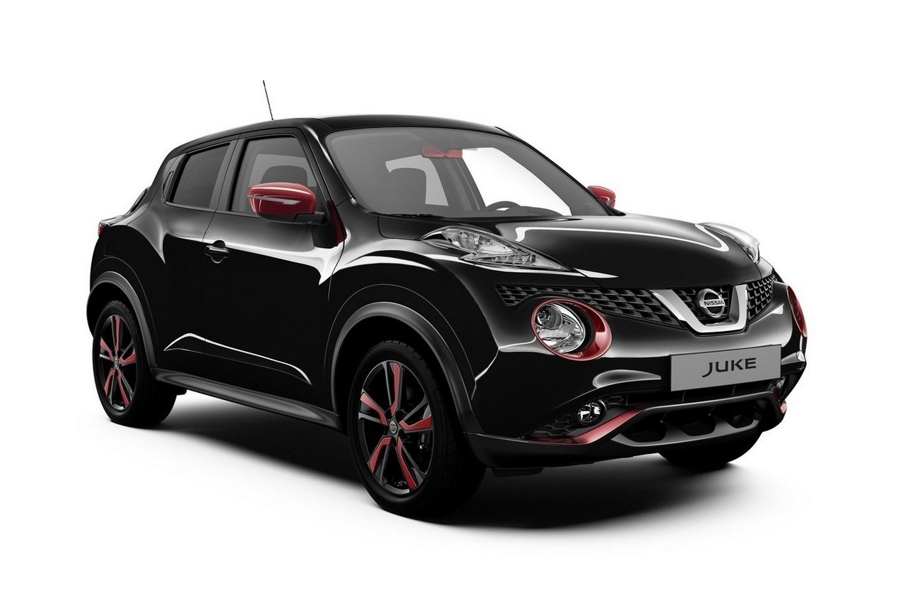 nissan juke une s rie sp ciale red touch en rouge et. Black Bedroom Furniture Sets. Home Design Ideas
