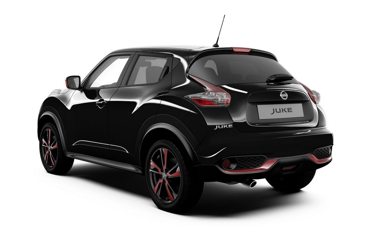 nissan juke une s rie sp ciale red touch en rouge et noir photo 2 l 39 argus. Black Bedroom Furniture Sets. Home Design Ideas