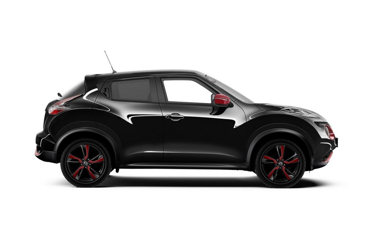nissan juke une s rie sp ciale red touch en rouge et noir photo 3 l 39 argus. Black Bedroom Furniture Sets. Home Design Ideas