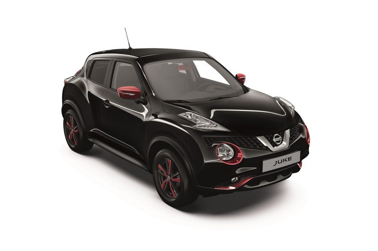 nissan juke une s rie sp ciale red touch en rouge et noir photo 4 l 39 argus. Black Bedroom Furniture Sets. Home Design Ideas