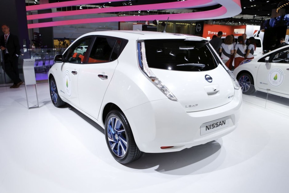 nissan leaf 30 kwh 250 km d 39 autonomie pour la leaf photo 10 l 39 argus. Black Bedroom Furniture Sets. Home Design Ideas