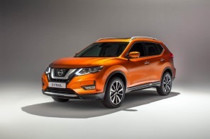 Nissan X-Trail 2017 restylage vue avant orange
