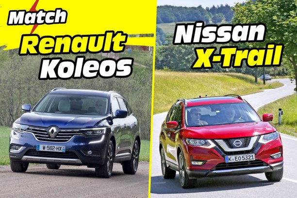 premier comparatif le nissan x trail d fie le renault. Black Bedroom Furniture Sets. Home Design Ideas