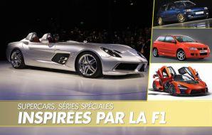 voitures inspirées par la F1