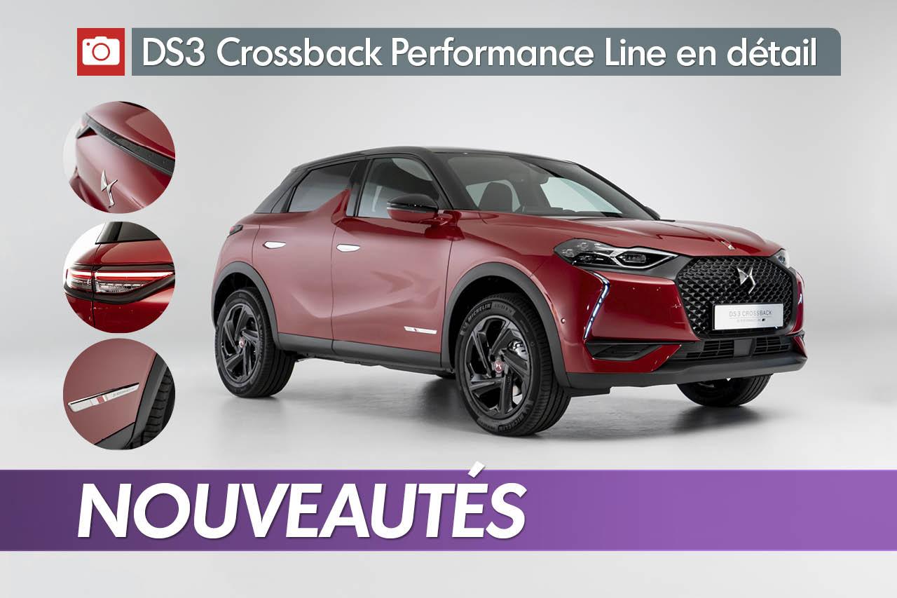 DS3 Crossback Performance Line : la version sportive en détail