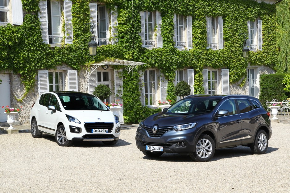 essai comparatif renault kadjar vs peugeot 3008 le choc des suv photo 2 l 39 argus. Black Bedroom Furniture Sets. Home Design Ideas