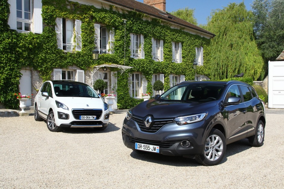 essai comparatif renault kadjar vs peugeot 3008 le choc des suv photo 3 l 39 argus. Black Bedroom Furniture Sets. Home Design Ideas